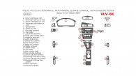 Volvo V70 2001, 2002, 2003, 2004, Basic Interior Kit or OEM Match, Automatic, With Manual Climate Control, With Cassette Player, 26 Pcs.