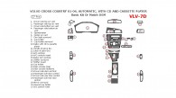 Volvo Cross Country 2001, 2002, 2003, 2004, Basic Interior Kit, With CD and Cassette Player, 27 Pcs.