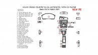 Volvo Cross Country 2001, 2002, 2003, 2004, Basic Interior Kit, With CD Player, 27 Pcs.