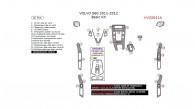Volvo S60 2011-2012, Basic Interior Kit, 26 Pcs.