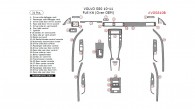 Volvo S80 2010-2011, Full Interior Kit (Over OEM), 31 Pcs.