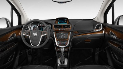 Buick Encore 2013-2016, Full Kit (Over OEM Trim), 36 Pcs.