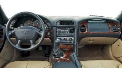 Chevrolet Corvette 1998, 1999, 2000, 2001, 2002, 2003, 2004, Main Interior Kit, 23 Pcs.
