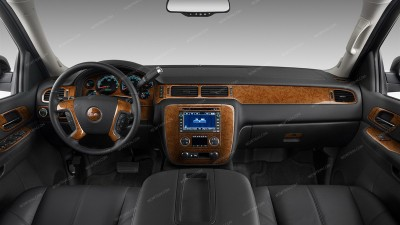 Dash Kits For Gmc Sierra Wood Grain Camo Carbon Fiber