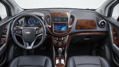 Chevrolet Trax 2015-2016, With 7-Inch MyLink Touch Screen Radio, Full Interior Kit, 58 Pcs.