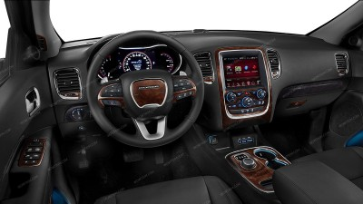 Dodge Durango 2014-UP, With 5 Inch Touch Screen Display, Main Kit, 29 Pcs.