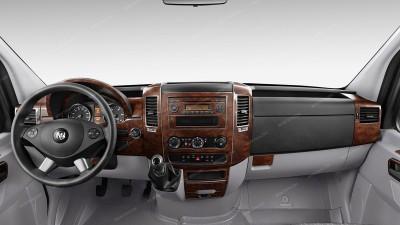 Dodge Sprinter 2007-2009, Full Kit, 44 Pcs.