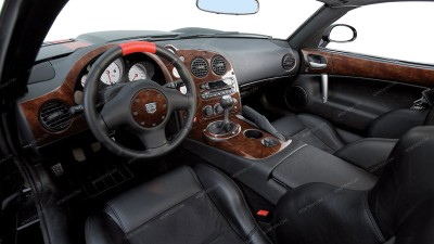 Dodge Viper 2003, 2004, 2005, 2006, 2007, 2008, 2009, 2010, Full Interior Kit, 24 Pcs.