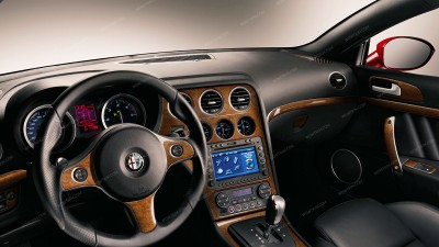 Alfa Romeo Brera 2005-2011, Left Hand Drive, Main Kit (Europe Only), 23 Pcs.