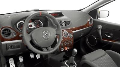 Renault Clio III 2006, 2007, 2008, 2009, 2010, 2011, 2012, 2013, 2014, 2015, Interior Dash Kit, With Manual Transmission, 20 Pcs.