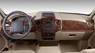 Ford F-150 2004, 2005, 2006, 2007, 2008, XLT, Interior Kit, SuperCrew, Bench Seat, 47 Pcs.