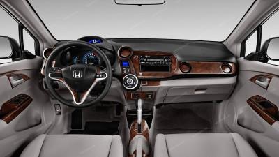 Honda Insight 2010, 2011, 2012, 2013, 2014, With Navigation System, Main Interior Kit, 22 Pcs.