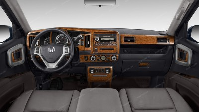 Honda Ridgeline 2009, 2010, 2011, 2012, 2013, 2014, Full Interior Kit, 54 Pcs.