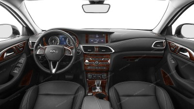 Infiniti QX30 2017-2018, Full Interior Kit, 35 Pcs.
