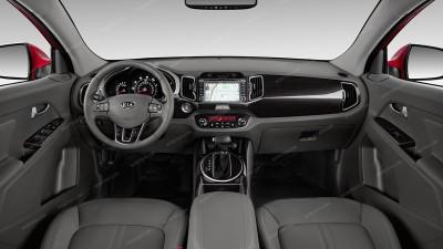 Kia Sportage 2011, 2012, 2013, 2014, 2015, 2016, Full Interior Kit, 61 Pcs.