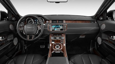 Land Rover Range Rover Evoque 2012, 2013, 2014, 2015, 2016, 2017, Full Interior Kit (4 Door), 55 Pcs.