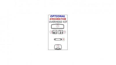 Citroen C-Crosser / Mitsubishi Outlander / Peugeot 4007 2007-2013, Optional Overhead Kit, 5 Pcs.