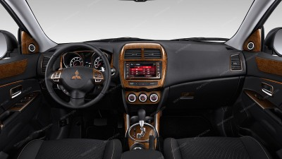 Mitsubishi ASX/Outlander Sport/RVR 2011, 2012, 2013, 2014, 2015, With Navigation System Or Without Navigation System (2014, 2015, 2016), Full Interior Kit, 62 Pcs.