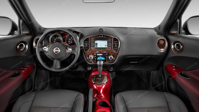 Nissan Juke 2011, 2012, 2013, 2014, Full Interior Kit, 50 Pcs.