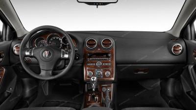 Pontiac G6 2005, 2006, 2007, 2008, 2009, 2010, Coupe/Convertible, Full Interior Kit, 47 Pcs.