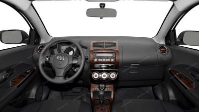 Scion xD 2008, 2009, 2010, 2011, 2012, 2013, 2014, Main Interior Kit, 24 Pcs.