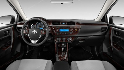 Toyota Corolla 2014-2016, Full Kit, 81 Pcs.