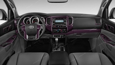 Toyota Tacoma 2012, 2013, 2014, 2015, Full Interior Kit (Double Cab), 67 Pcs.