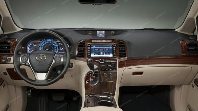 Toyota Venza 2009, 2010, 2011, 2012, 2013, 2014, 2015, Main Interior Kit, 39 Pcs.
