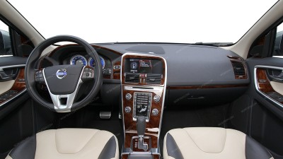 Volvo XC60 2011, 2012, 2013, 2014, 2015, 2016, 2017, For Models With Navigation System, Full Interior Kit (Regular Kit Or Over OEM), 35 Pcs.