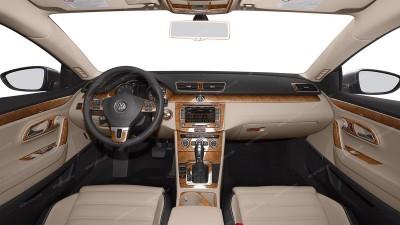 Volkswagen Passat CC 2012, 2013, 2014, 2015, Deluxe Interior Kit, 88 Pcs.