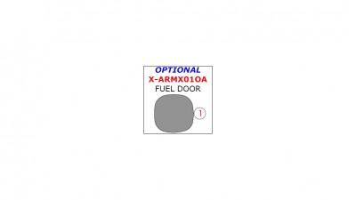 Acura MDX 2001-2006, Exterior, Optional Fuel Door, 1 Pc.