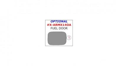 Acura MDX 2014-UP, Exterior, Optional Fuel Door, 1 Pc.