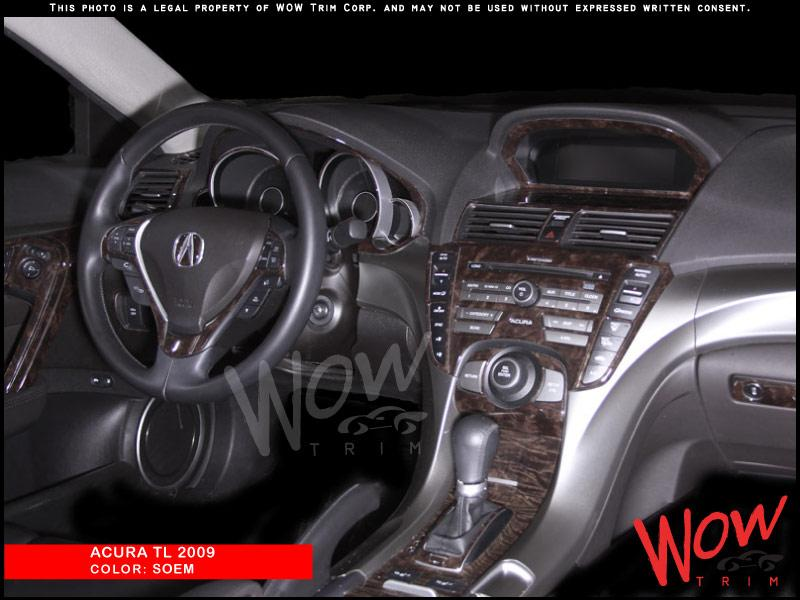 Dash Kits Real Wood Grain Carbon Fiber Camouflage Aluminum - 2005 acura tl dashboard replacement