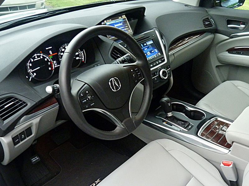 wood grain dash kits for Acura MDX