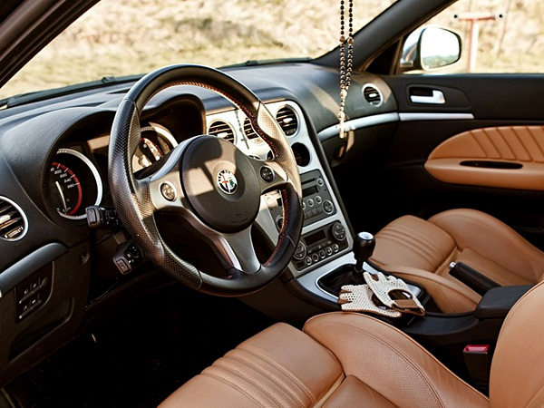 Dash trim kits accessories for alfa romeo 159 wood for Alfa romeo 159 interieur