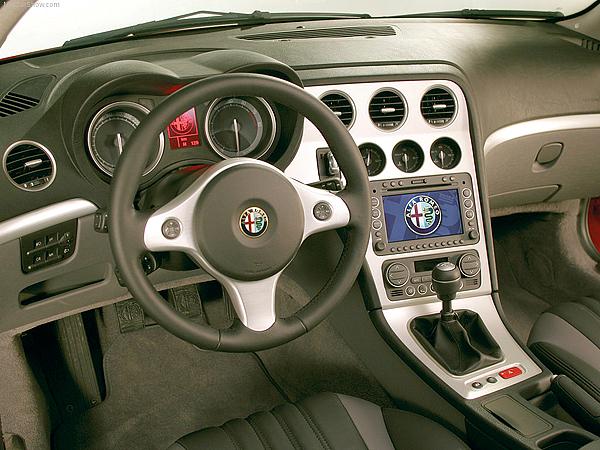 door pillars for Alfa Romeo Brera