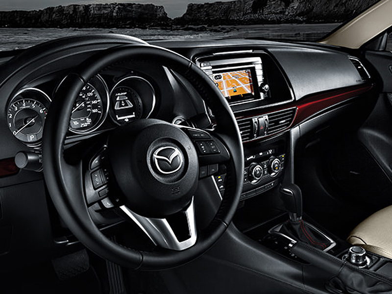 wood grain dash kits for Mazda 6