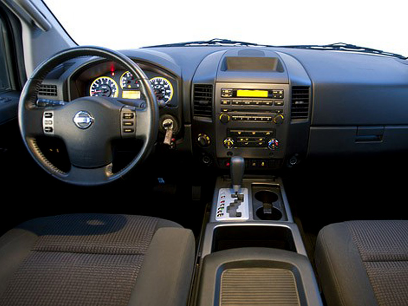 2005 nissan titan interior. Black Bedroom Furniture Sets. Home Design Ideas